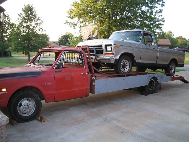 Using a flatbed as a car hauler? | Grassroots Motorsports ...